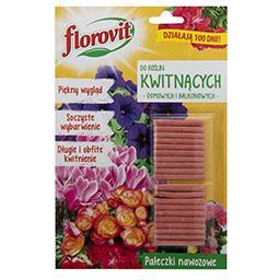 Pałeczki nawozowe do roślin kwitnących (domowych i balkonowych) 20 sztuk