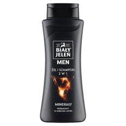 Men Żel i szampon 2 w 1 minerały
