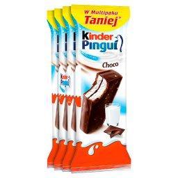 Pingui Choco Biszkopt z mlecznym nadzieniem pokryty czekoladą 120 g