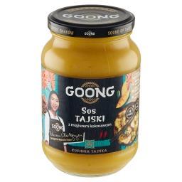 Sos tajski z miąższem kokosowym