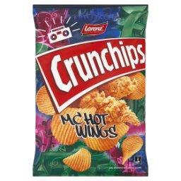 Mc Hot Wings Chipsy ziemniaczane o smaku pikantnych skrzydełek