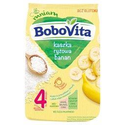 Kaszka ryżowa banan po 4. miesiącu