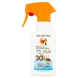 Emulsja do opalania dla dzieci w sprayu SPF 30
