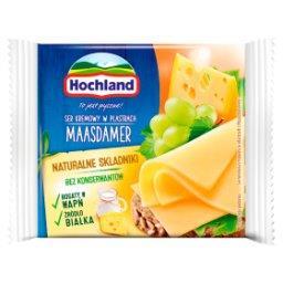 Ser kremowy Maasdamer w plastrach