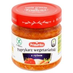 Paprykarz wegetariański z ryżem