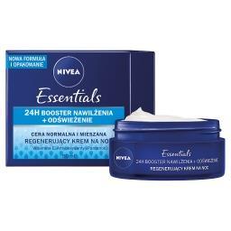 Essentials Regenerujący krem na noc cera normalna i mieszana