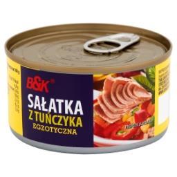 Sałatka z tuńczyka egzotyczna