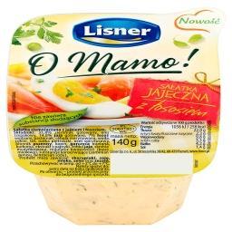 O Mamo! Sałatka jajeczna z łososiem