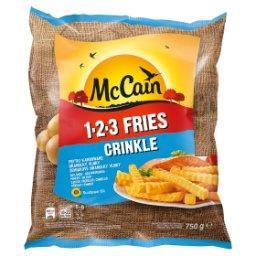 1.2.3 Fries Crinkle Frytki karbowane