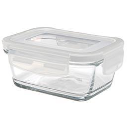 Szklany pojemnik z pokrywką 300 ml