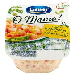 O Mamo! Sałatka warzywna z kukurydzą