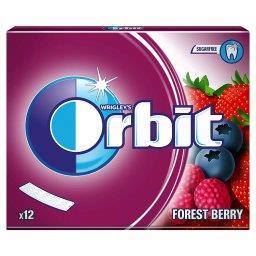 Forest Berry Guma do żucia bez cukru  (12 listków)