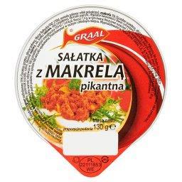 Sałatka z makrelą pikantna