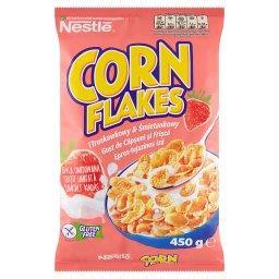 Corn Flakes Płatki kukurydziane smak truskawkowy & ś...