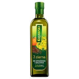 3 ziarna Olej rzepakowy z olejami z lnu i pestek dyn...