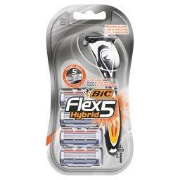 Flex 5 Hybrid 5-ostrzowa maszynka do golenia 4 sztuk...