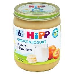 BIO Owoce & Jogurt Morele z jogurtem po 6. miesiącu