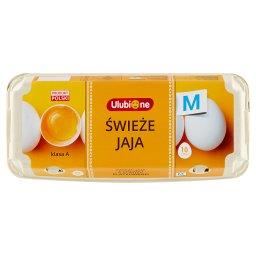 Świeże jaja z chowu klatkowego M 10 sztuk
