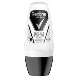 Men Invisible Black + White Antyperspirant w kulce d...