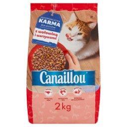 Pełnoporcjowa karma dla kotów z wołowiną i warzywami