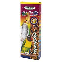 Kolba Fantasia dla papug owocowa + jajeczna 2 sztuki