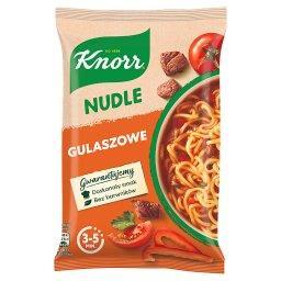 Nudle Zupa-danie gulaszowe