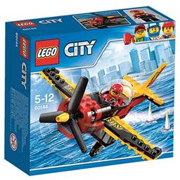 Klocki City 60144 samolot wyścigowy