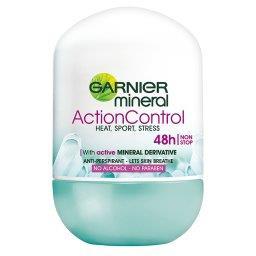 Mineral Action Control Antyperspirant w kulce bez alkoholu