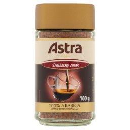 Delikatny smak Kawa rozpuszczalna