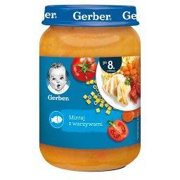 Mintaj z warzywami dla niemowląt po 8. miesiącu