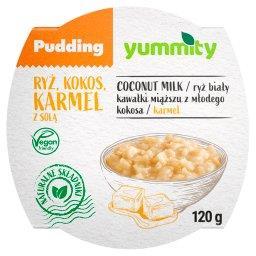 Bezglutenowy pudding ryżowy z kokosem i solonym karmelem