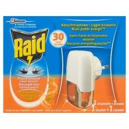 Elektrofumigator z płynem owadobójczym przeciw komarom o zapachu kwiatu pomarańczy
