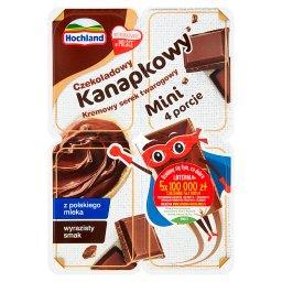 Kanapkowy mini serek twarogowy czekoladowy 120 g (4 ...