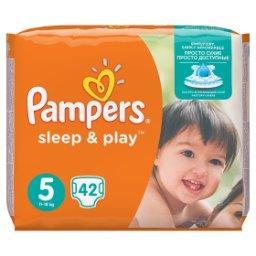 Sleep&Play rozmiar 5 (Junior), 42 pieluszki