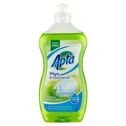 Płyn do mycia naczyń o zapachu mięty i jabłek