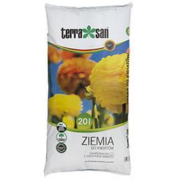 Ziemia do kwiatów uniwersalna z dodatkiem nawozu 20 ...