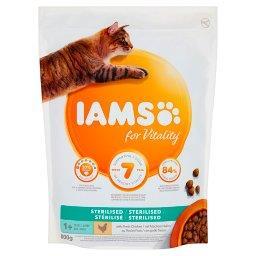 For Vitality Sterilised Karma dla dorosłych i starszych kotów ze świeżym kurczakiem