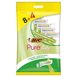Pure Lady 3-ostrzowa maszynka do golenia 12 sztuk
