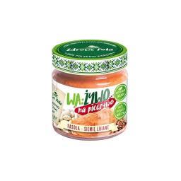 WA:ŻYWO: Pasta z białej fasoli z siemieniem lnianym