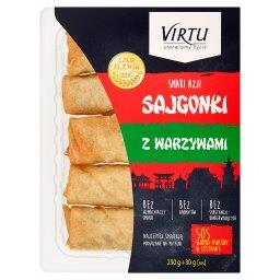 Smaki Azji Sajgonki z warzywami 250 g + sos słodko-k...