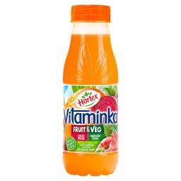 Vitaminka Fruit & Veg Sok jabłko malina marchew bura...