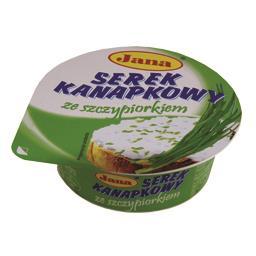Serek kanapkowy ze szczypiorkiem 100g