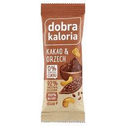 Baton owocowy kakao & orzech