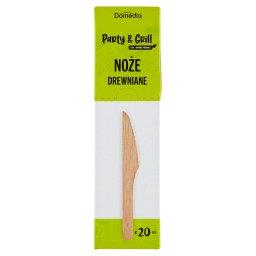 Noże drewniane 20 sztuk