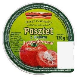 Pasztet z drobiem i pomidorami