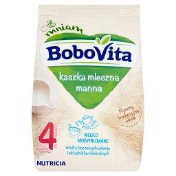 Kaszka mleczna manna po 4 miesiącu