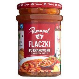 Flaczki po krakowsku z dodatkiem imbiru