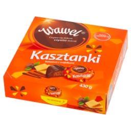 Kasztanki kakaowe z wafelkami Czekoladki nadziewane