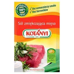 Sól zmiękczająca mięso