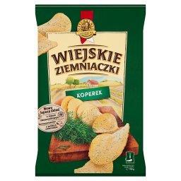 Chipsy ziemniaczane o smaku koperku